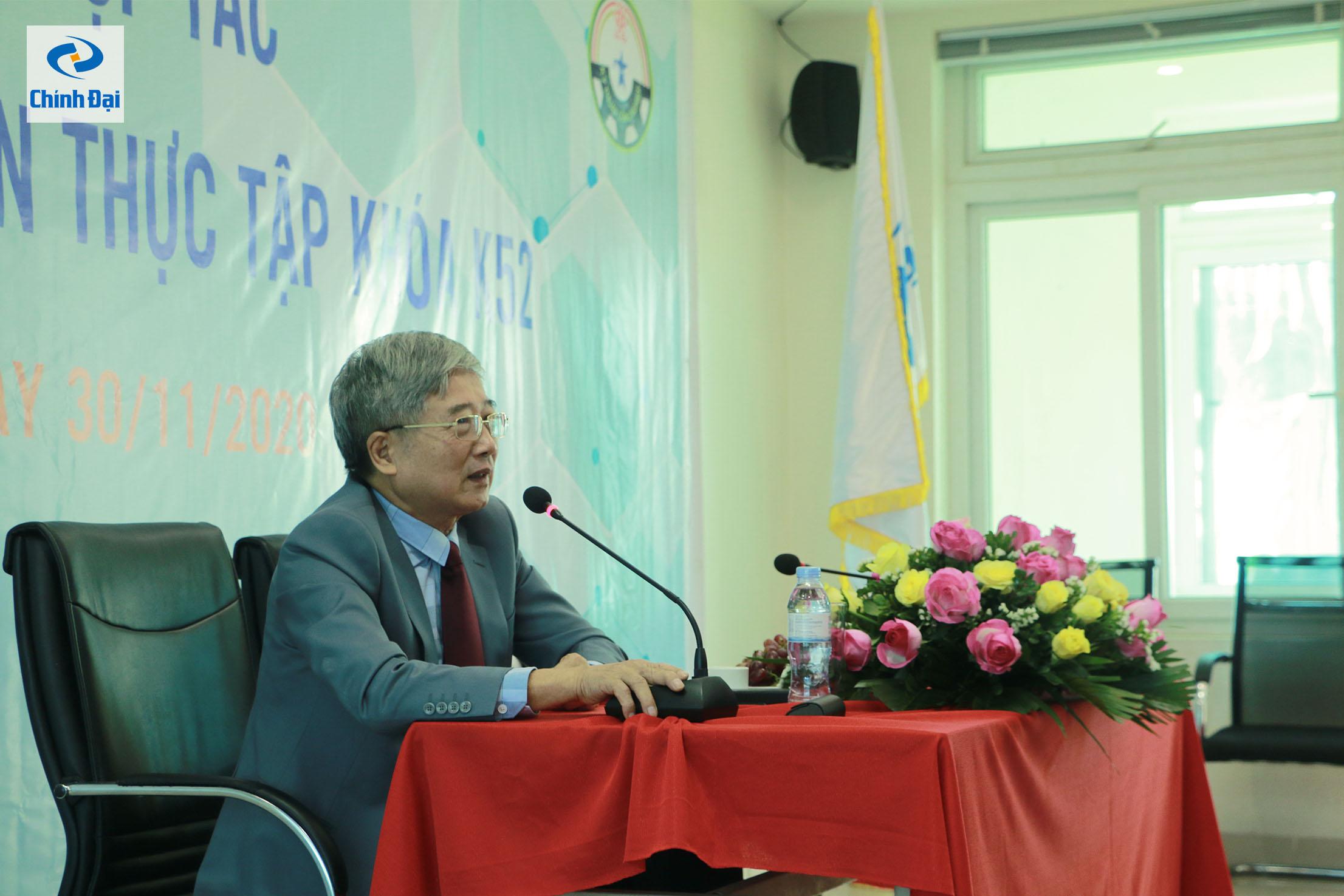 Ông Đồng Văn Bột, Tổng Giám đốc Công ty TNHH Công nghiệp Chính Đại phát biểu khai mạc hội nghị